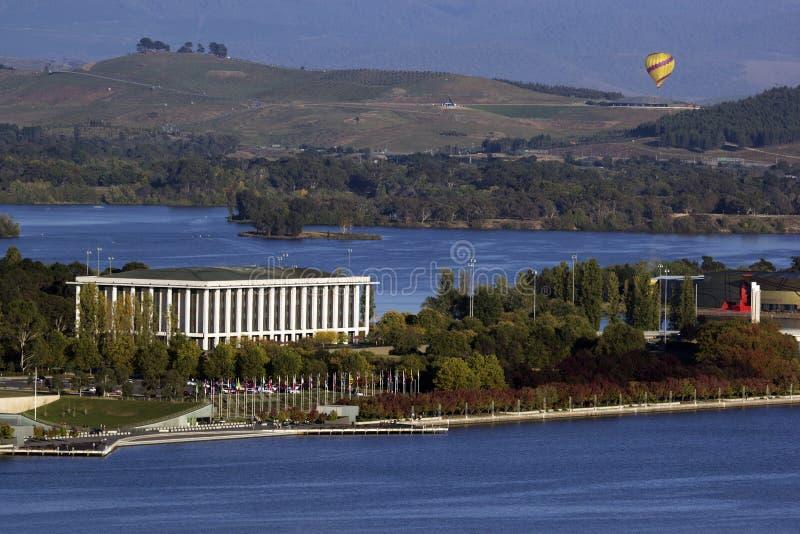 Nationale Bibliotheek van Australië - Canberra stock foto