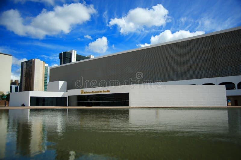 Nationale Bibliotheek van BrasÃlia royalty-vrije stock foto