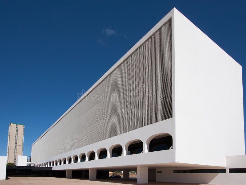Nationale Bibliotheek van Brasilia stock fotografie