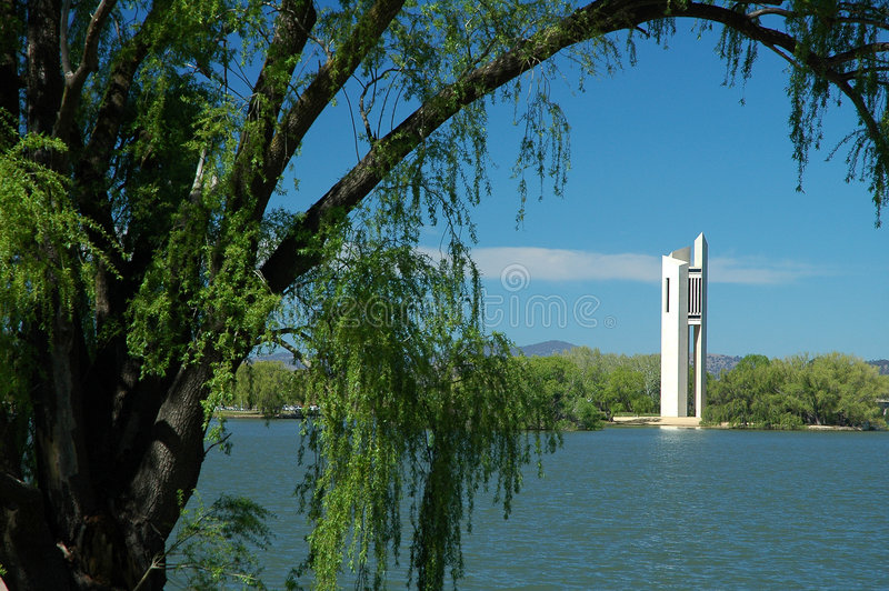Nationale Carillion in Canberra stock afbeelding