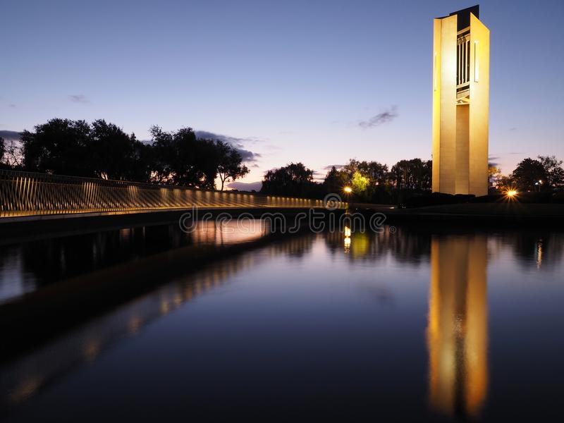 Nationale Carillon canberra royalty-vrije stock afbeelding