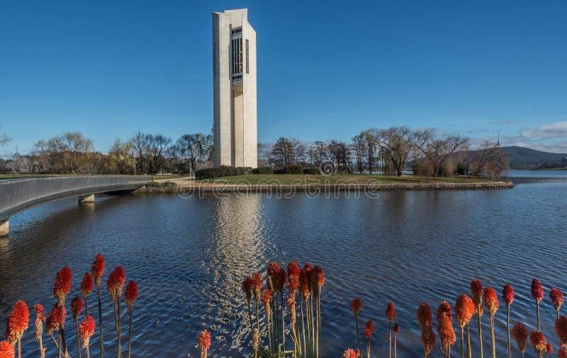 Nationale Carillon in Canberra Australië royalty-vrije stock fotografie