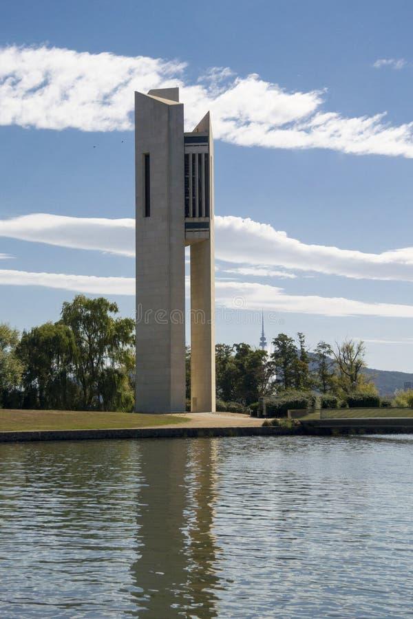 Nationale Carillonklokketoren, Canberra, Australië royalty-vrije stock foto