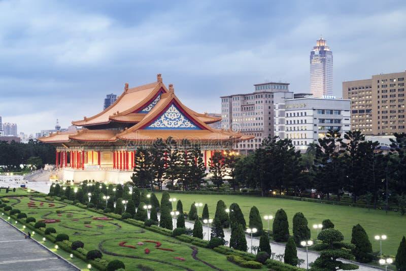 Nationale Concertzaal, Taipeh - Taiwan royalty-vrije stock afbeeldingen