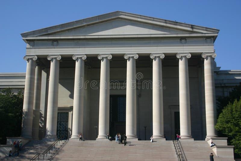 Nationale Galerie der Kunst (Westgebäude) lizenzfreie stockfotografie