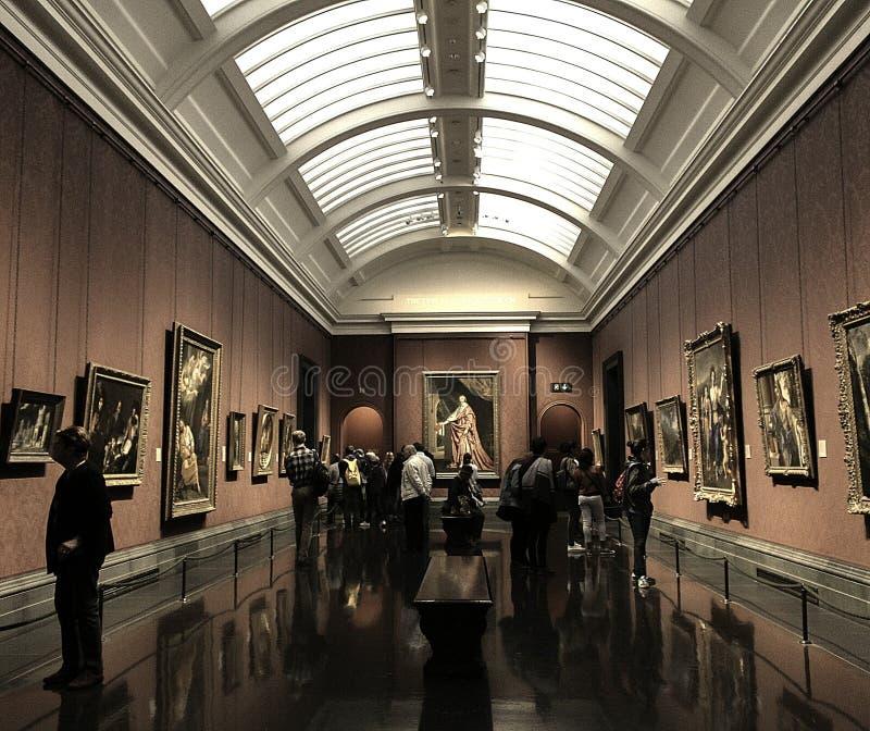 Nationale galerij royalty-vrije stock afbeelding