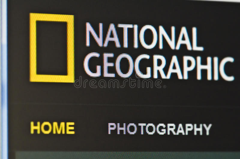 Nationale geografisch royalty-vrije stock foto's