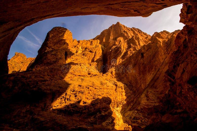 Nationale geologische park van de Tianshan het grote canion royalty-vrije stock fotografie