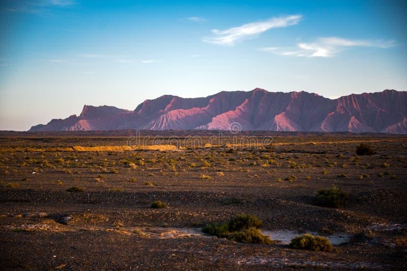 Nationale geologische park van de Tianshan het grote canion royalty-vrije stock afbeeldingen