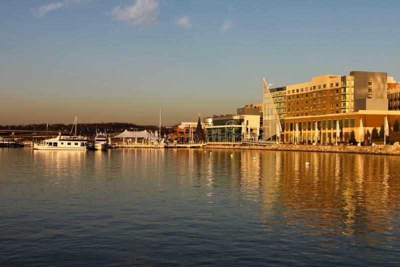 Nationale Hafen-Ufergegend lizenzfreie stockfotografie