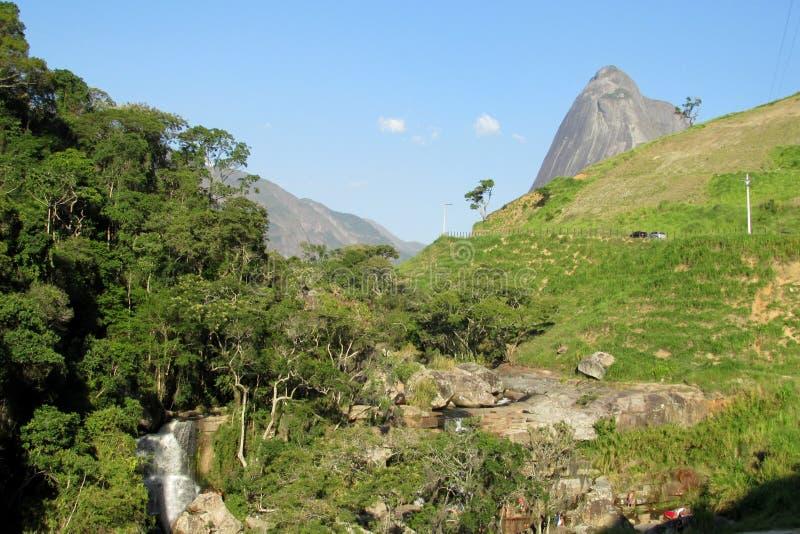 Nationale het Parktoevlucht van Trespicos stock fotografie