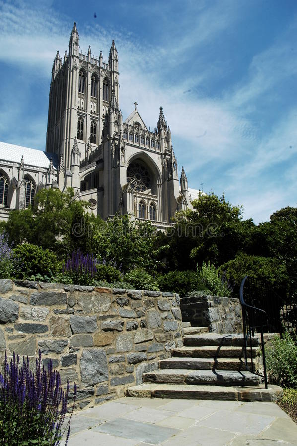 Nationale Kathedrale stockfotos