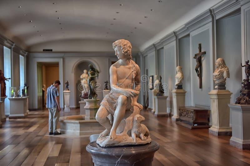 Nationale kunstgalerie Washington royalty-vrije stock afbeelding