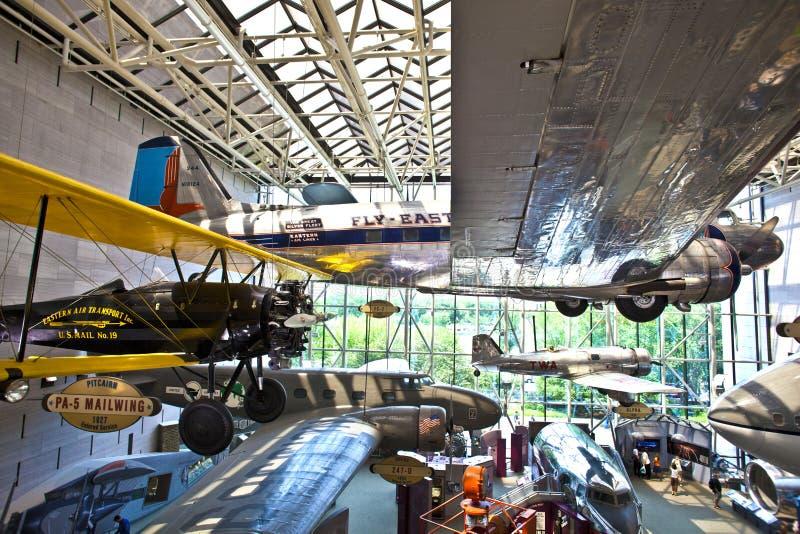 Nationale Lucht en Ruimtemuseum stock foto's