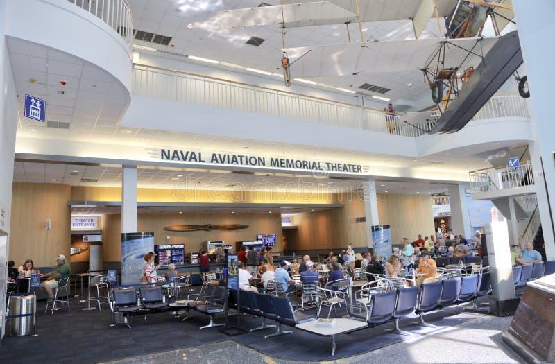 Nationale Luftfahrt-Erinnerungstheater Pensacola, Florida stockfotografie