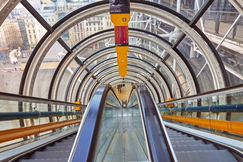 Nationale Mitte für Kunst und Kultur Georges Pompidou stockbilder