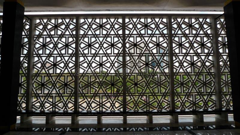 Nationale Moskee Kuala Lumpur stock fotografie