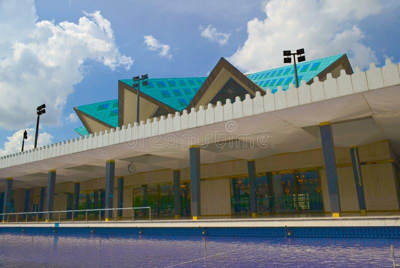 Nationale Moskee van Kuala Lumpur, Maleisië stock afbeelding