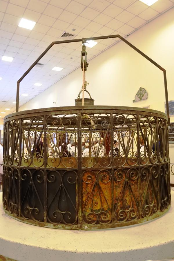 Nationale Museum en Park Arabische Islamitisch stock afbeelding