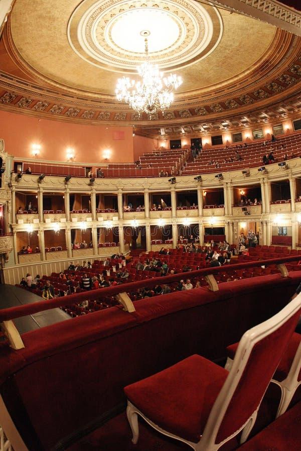 Nationale Oper Bucharest lizenzfreies stockfoto