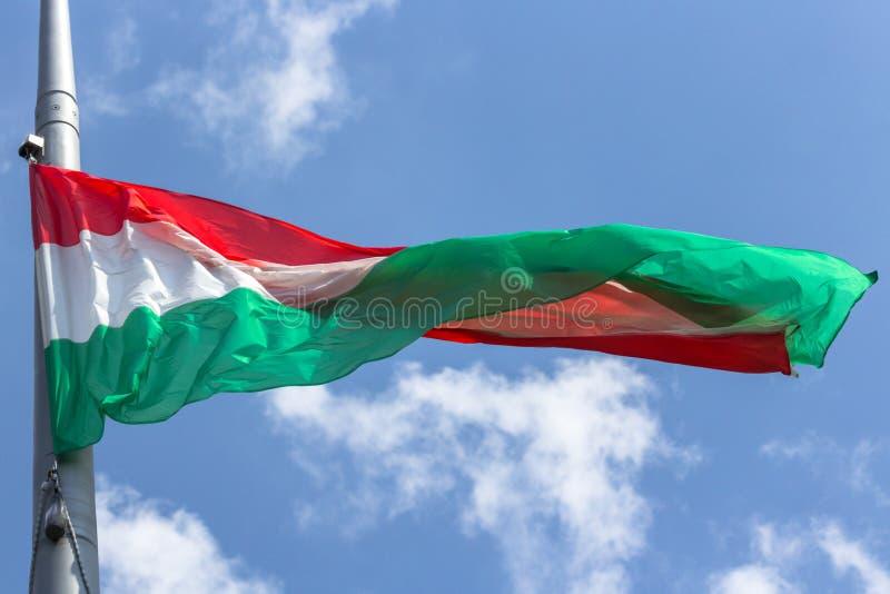 Nationale Sonderzeichen von Ungarn stockbild