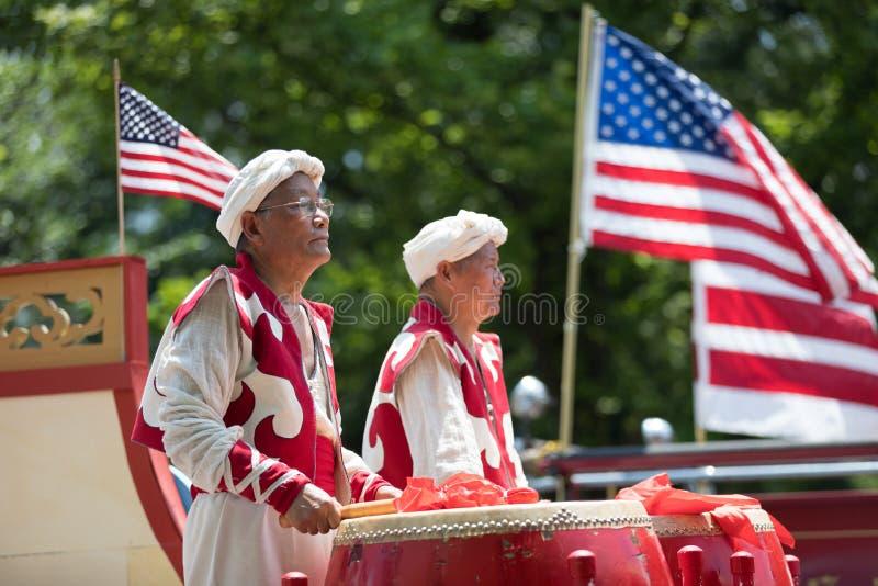 Nationale Unabhängigkeitstag-Parade 2018 stockfoto
