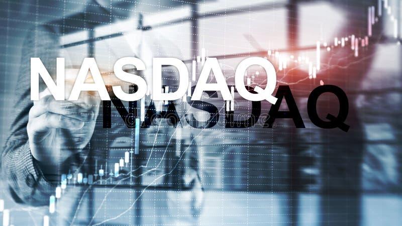 Nationale Vereinigung des Wertpapierh?ndler-automatisierten Zitats NASDAQ lizenzfreie stockfotos