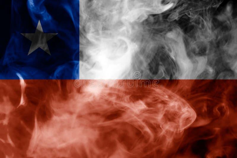 Nationale vlag van Chili royalty-vrije illustratie