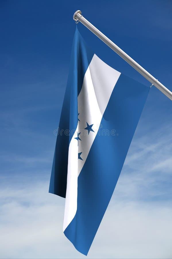Nationale vlag van Honduras vector illustratie