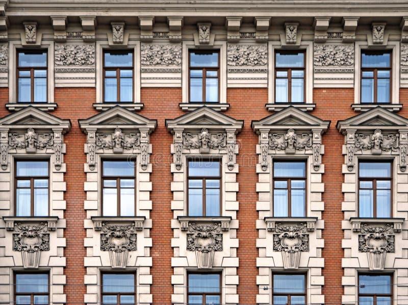 Nationale voorzijde van Hotel royalty-vrije stock afbeeldingen