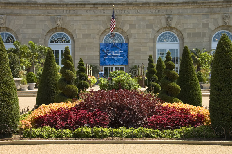 Nationaler botanischer Garten lizenzfreies stockfoto