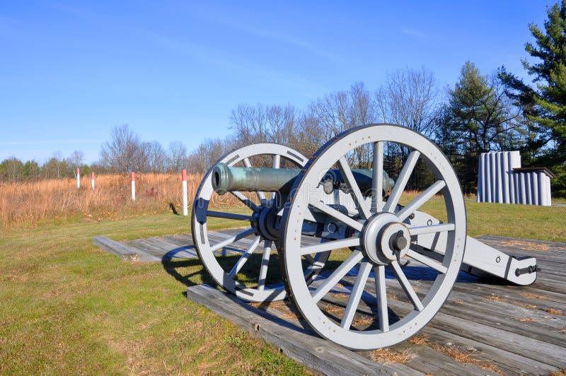 Nationaler historischer Park Saratoga, New York, USA stockfotografie