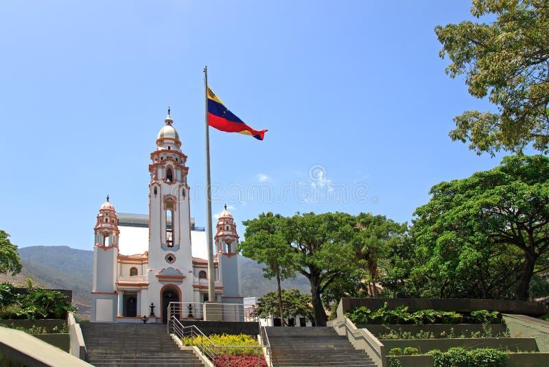 Nationaler Pantheon, Caracas, Venezuela stockfotos