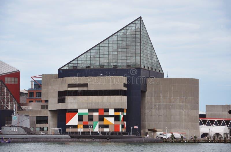 Nationales Aquarium in Baltimore lizenzfreies stockfoto