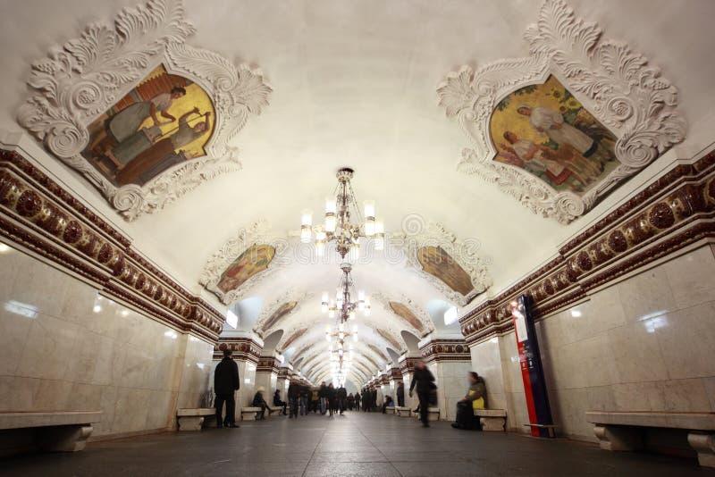 Nationales Architekturdenkmal - Metrostation lizenzfreies stockfoto