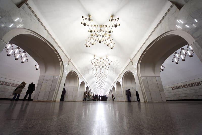 Nationales Architekturdenkmal - Metrostation stockfotos