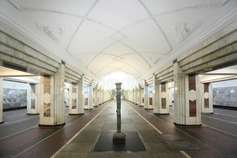 Nationales Architekturdenkmal - Metrostation lizenzfreie stockbilder