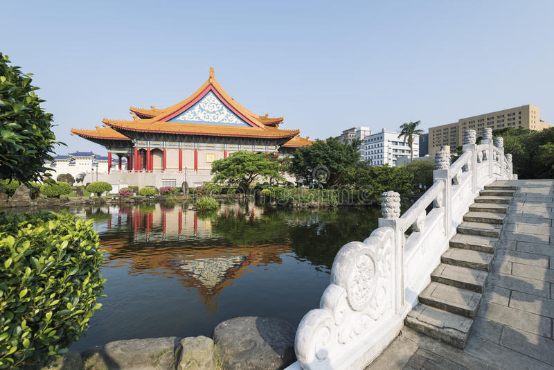 Nationales Konzertsaal, Taipeh, Taiwan stockfotos