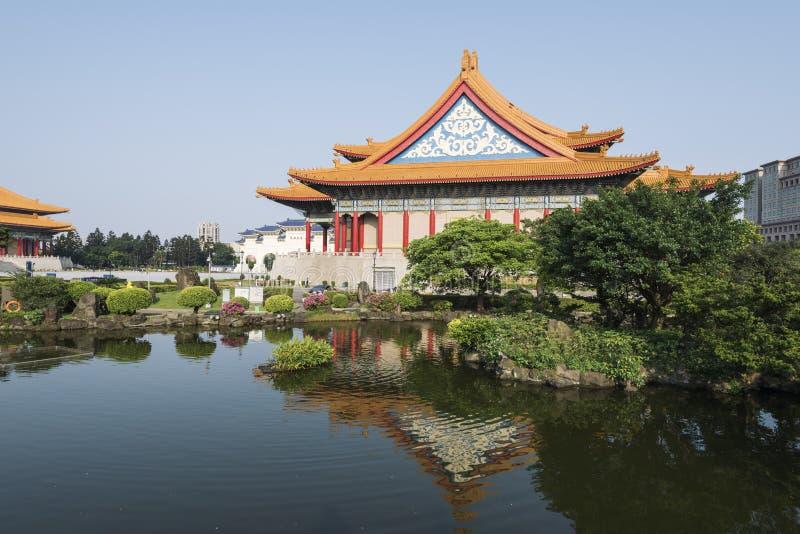 Nationales Konzertsaal, Taipeh, Taiwan stockfotografie