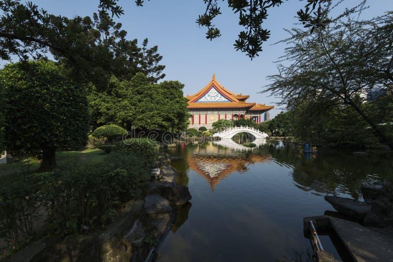 Nationales Konzertsaal, Taipeh, Taiwan stockbild