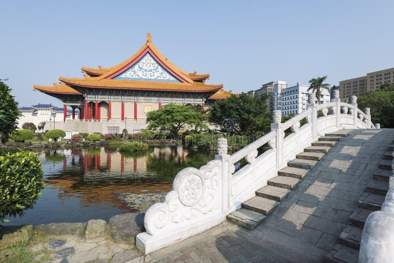 Nationales Konzertsaal, Taipeh, Taiwan lizenzfreies stockfoto