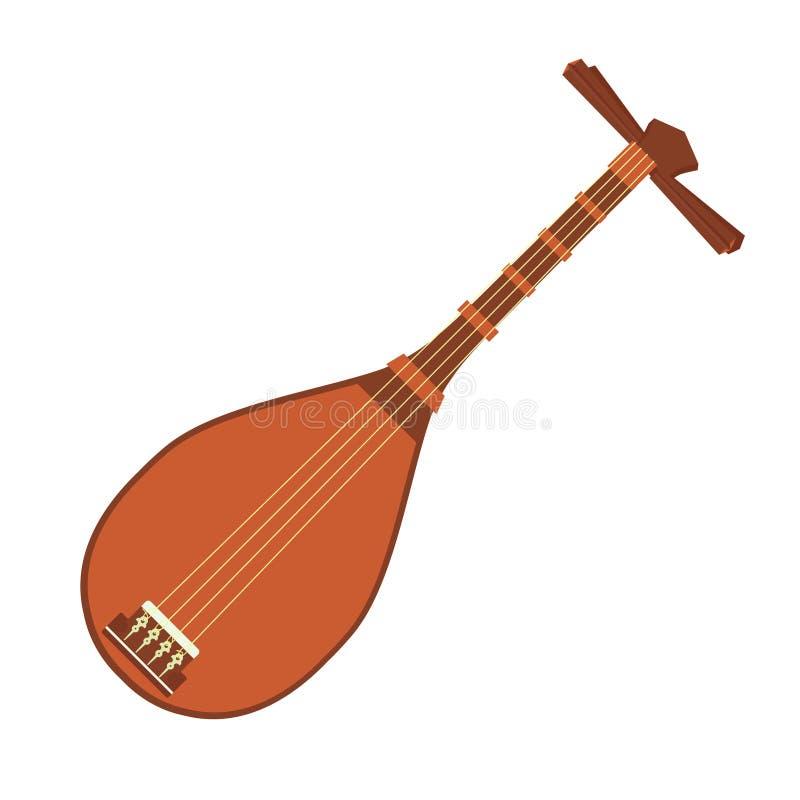 Nationales Musikinstrument vektor abbildung