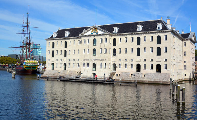Nationales Seemuseum lizenzfreie stockbilder
