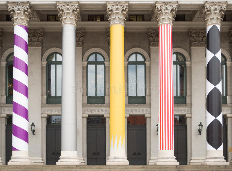 Nationales Theater in München lizenzfreies stockbild
