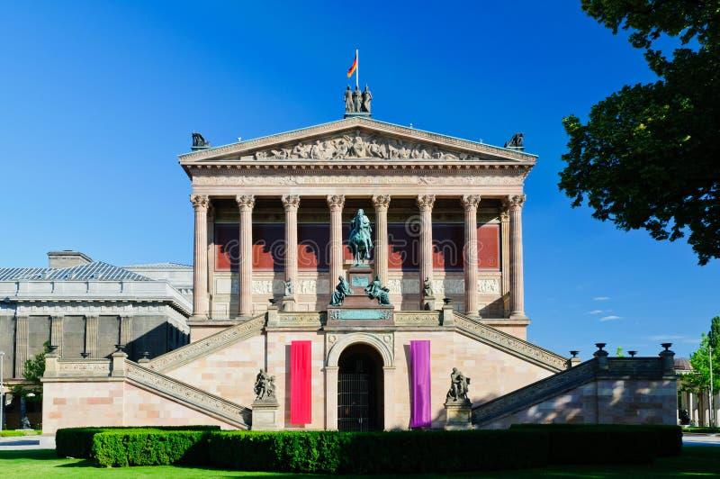 Alte Nationalgalerie Берлин стоковые фото