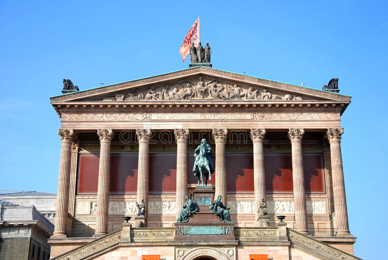 nationalgalerie berlin alte стоковое изображение rf