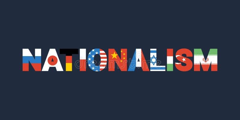 nationalism stock illustratie