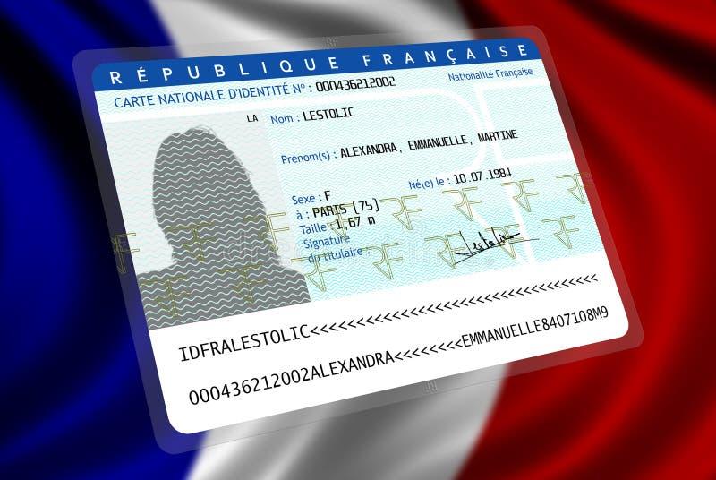 Nationalité française (femelle 2) photos libres de droits