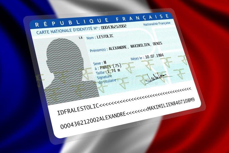 Nationalité française (mâle 2) photographie stock libre de droits