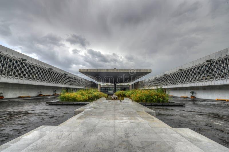 Nationalmuseum der Anthropologie-Piazzas lizenzfreie stockfotografie